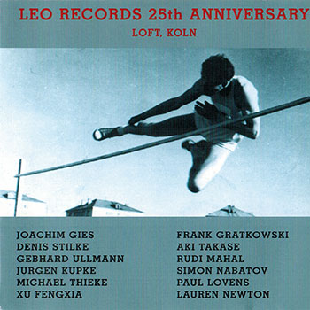 Album image: The Clarinet Trio - Leo Records 25th Anniversary