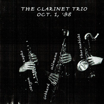 Album image: The Clarinet Trio - Oct.1, '98